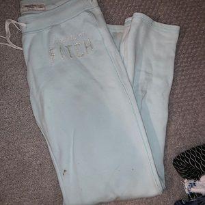 Abercrombie Sweat Pants Blue